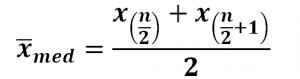 Berechnung Median gerade Zahl