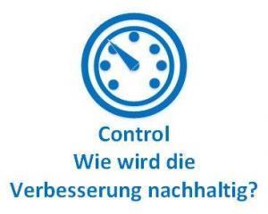 Control - wie wird die Verbesserung nachhaltig