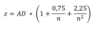 test auf normalverteilung anderson darling Z definition.png